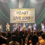 Green Ribbon HEART BEAT LIVE 2015 with SPACE SHOWER TV