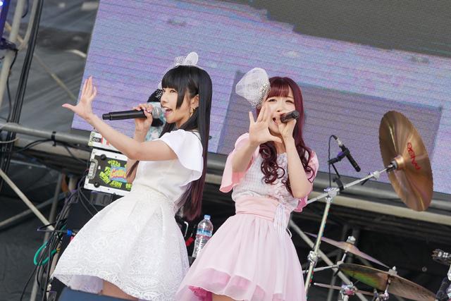 でんぱ組「相沢梨紗」と妄キャリ「桜野羽咲」の新ユニット「LAVILITH(ラビリス)」