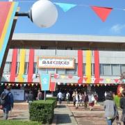 過去の芸術祭の様子、芸術祭風景
