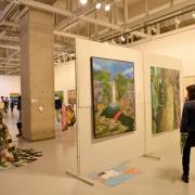 過去の芸術祭の様子、展示風景