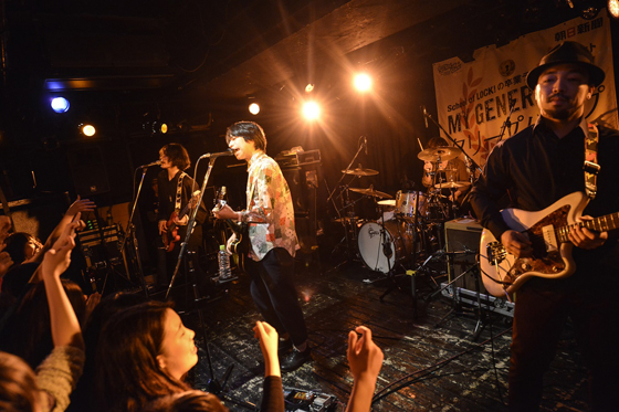 クリープハイプ、SCHOOL OF LOCK! MY GENERATION 2014