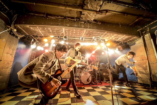 THE BAWDIES(Photo by 釘野孝宏)